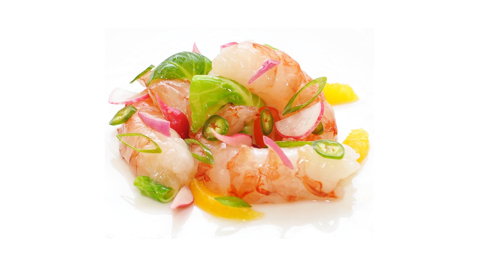 Argentine Shrimp Cevice - Pickled Vegetable Salad