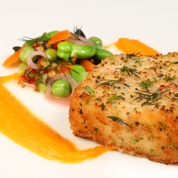 Lightly Dusted Haddock - Food Photography - Product Development - Pacakge Design