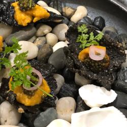 Caviar and Uni - Food Photography - Recipe Development